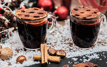 Mulled Wine Mug Toppers