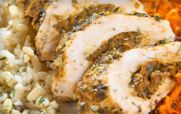 Chicken Fillets with Pesto