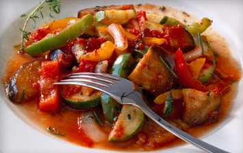 Slow Cooked Ratatouille