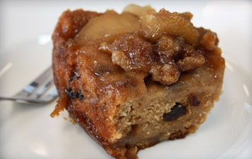 Apple Cobbler Pudding (Pressure Cooker)
