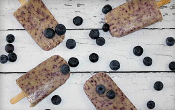 Blueberry Blitz Ice Lolly