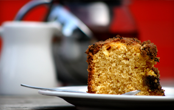Earl Grey Crumble Cake