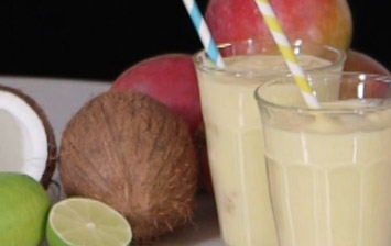 Mango and Coconut Smoothie