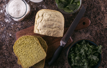 Super Green Bread