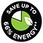 Akár 66% energiamegtakarítás