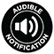 Audible notifications