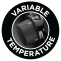 Variable temperature