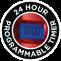 24 órás programozható, időzítő funkció