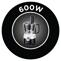 600 W teljesítmény