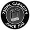 750 ml-es gyümölcslétartó