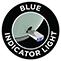Kék LED világítás