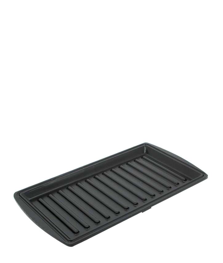 Set of Ribbed Plates for Sandwich Maker
