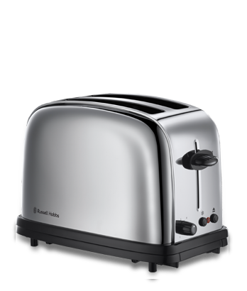 russell hobbs 20720 56 chester polished stainless steel toaster