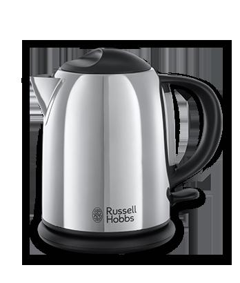 Bouilloires silencieuses, en verre, contrôle température - Russell ...