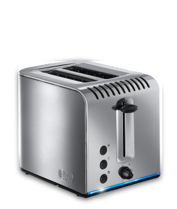 Russell Hobbs UK Buckingham Stainless Steel 2 Slice Toaster 20740