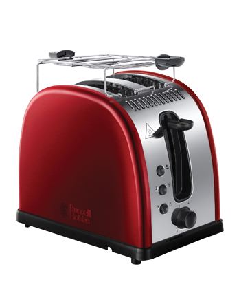Russell Hobbs MT Legacy Red Toaster 21291-56
