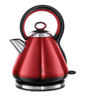 Russell Hobbs UK Legacy Metallic Red Kettle 21881