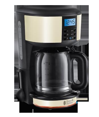Rus Hobbs Ie Legacy Cream Digital Coffee Maker 20683