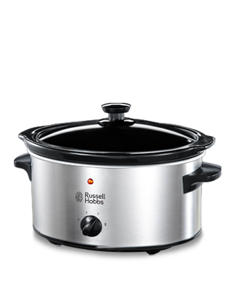 Russell Hobbs UK 3.5L Stainless Steel Slow Cooker 23200