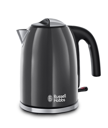 Russell Hobbs UK Colours Plus Grey Kettle 20414