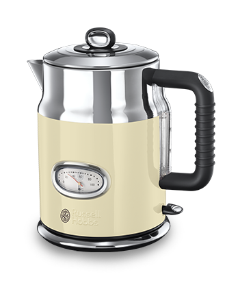 Russell Hobbs UK Retro Cream Kettle 21672