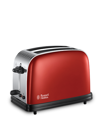 Russell Hobbs UK Colours Plus Red 2 Slice Toaster 23330