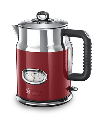 Russell Hobbs EU Retro Ribbon Red Kettle 21670-70