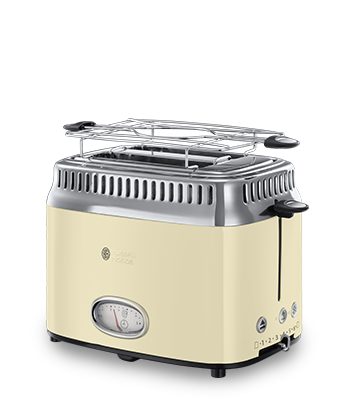 Brand Country e.g Russell Hobbs UK SE Retro Vintage Cream 2 Slice Toaster 21682-56