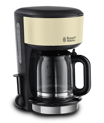 Russell Hobbs EU Colours Plus Classic  Cream Coffee Maker 20135-56