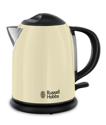 Russell Hobbs EU Colours Plus Compact Classic Cream Kettle 20194-70