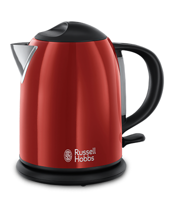 Russell Hobbs SI Colours Plus Compact Flame Red kuhalnik za vodo 20191-70