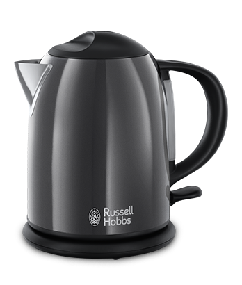 Russell Hobbs AT Colours Plus+ Storm Grey Kompakt-Wasserkocher 20192-70