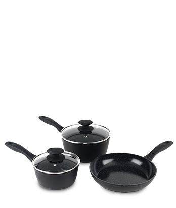 Russell Hobbs SI Komplet 3 ponev Stone Pan BW05743