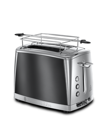 russell hobbs eu luna moonlight grey 2 slot toaster 23221 56. Black Bedroom Furniture Sets. Home Design Ideas
