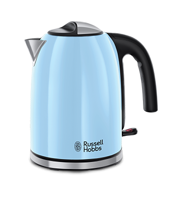 Russell Hobbs RU Чайник COLOURS PLUS HEAVENLY BLUE 20417-70