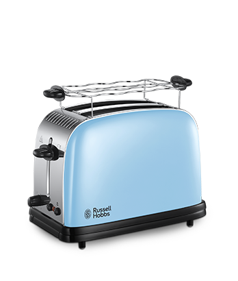 Russell Hobbs ES Tostadora para dos rebanadas Colours Plus+ Heavenly Blue 23335-56