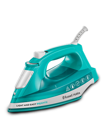 Russell Hobbs FR Fer à repasser Light & Easy Brights Aqua 24840-56