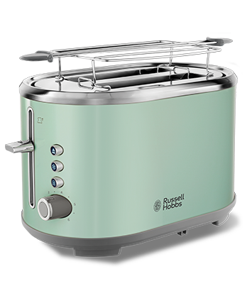 Brand Country e.g Russell Hobbs UK UA Тостер Bubble Soft Green  25080-56