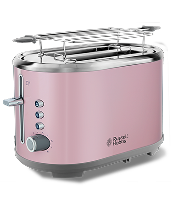Brand Country e.g Russell Hobbs UK UA Тостер Bubble Soft Pink  25081-56