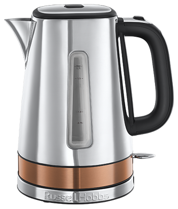 Russell Hobbs SI Luna Copper Accents Kettle 24280-70