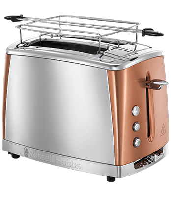 Russell Hobbs SI Luna Copper Accents 2 Slice opekač 24290-56