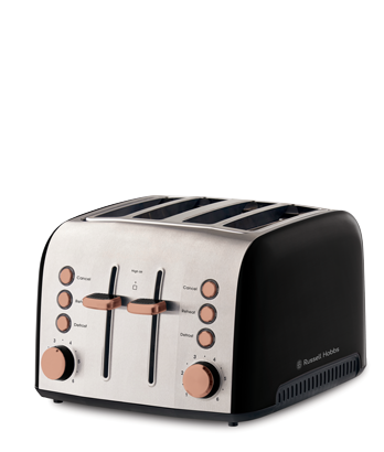 Russell Hobbs AU Brooklyn 4 slice toaster copper RHT94COP