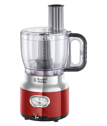 Brand Country e.g Russell Hobbs UK UA Кухонний комбайн Retro Red 25180-56