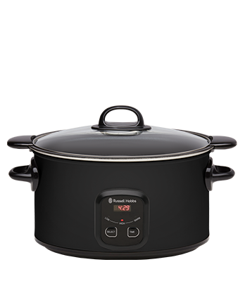 Russell Hobbs AU 6L Searing Slow Cooker - Matte Black RHSC650BLK