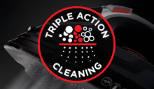 Triple Cleaning Action