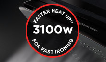 Fast & Powerful Ironing