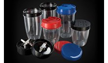 Variety of lids for enhanced versatility