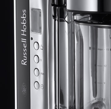 Russell Hobbs EU Black Glass Coffee Maker 19650-56
