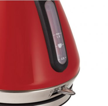 Russell Hobbs AU Heritage Vogue Kettle - Red RHK52RED