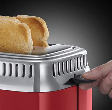 Russell Hobbs AT Retro Ribbon Red Toaster 21680-56